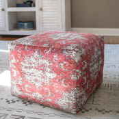 Decor Therapy Olivia Square Pouf