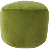 Decor Therapy Velvet Pouf