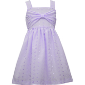 Bonnie Jean Toddler Girls Bow Front Dress