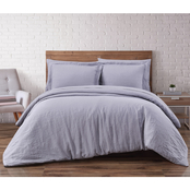 Brooklyn Loom Linen 3 pc. Duvet Set
