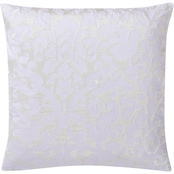 Charisma Medici Large Square Floral Embroidered Decorative Pillow