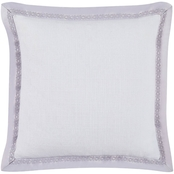 Charisma Medici Small Square Border Decorative Pillow