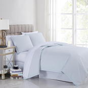 Charisma 400TC Percale Cotton 3 pc. Duvet Set