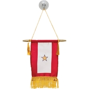 Sayre Mini Flag, 1 Gold Star
