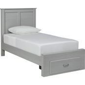 Signature Design by Ashley Arcella Panel Footboard Storage Bed