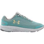 Under Armour Grade School Girls Charged Pursuit 2 Blue Haze Shoes