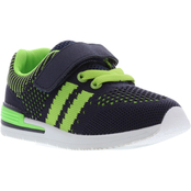 Oomphies Toddler Boys Wynn Knit Athletic Sneakers
