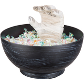 Gemmy Animated Mummy Hand Candy Bowl