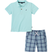Nautica Toddler Boys 2 pc. Polo Shirt Set