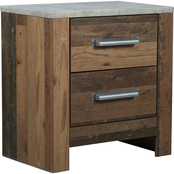 Benchcraft Chadbrook 2 Drawer Nightstand
