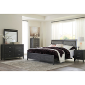 Benchcraft Delmar 5 pc. Bedroom Set