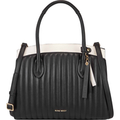 Nine West Charlize Triple Compartment Satchel