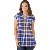 JW Short Sleeve Popover Top