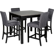 Benchcraft Garvine Square Counter 5 pc. Dining Set