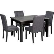 Benchcraft Garvine Rectangular 5 pc. Dining Set