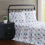 London Fog Chalet Flannel 4 pc. Sheet Set