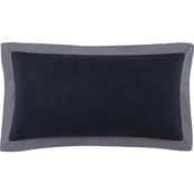 Vince Camuto Mirrea Bolster Decorative Pillow