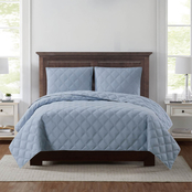 Truly Soft Everyday 3D Puff Quilt Set