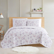 Cottage Classics Rose Dusk 3 pc. Quilt Set