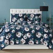 Christian Siriano 3 pc. Mags Floral Duvet Cover Set