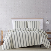 Truly Soft Millennial Stripe 3 pc. Quilt Set