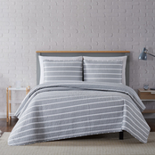 Truly Soft Maddow Stripe 3 pc. Quilt Set