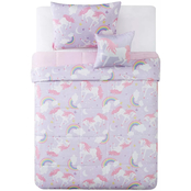 My World Rainbow Unicorn 4 pc. Comforter Set
