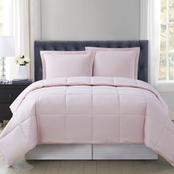 Truly Soft Everyday Reversible Blush Comforter Set