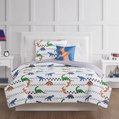 My World Dino Tracks Quilt Set