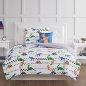 My World Dino Tracks Comforter Set
