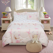Royale Linens Kidz Mix Dancing Ballerina Full Bed in a Bag