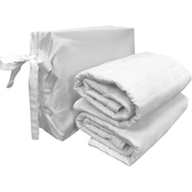 BedVoyage Eco-Melange Rayon Bamboo Cotton Quilted Standard Shams, 2 pc.