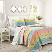 Lush Decor 3 pc. Royal Empire Quilt Set