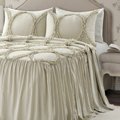 Lush Decor Riviera 3 pc. Bedspread Set