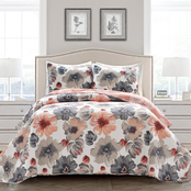 Lush Decor Leah 3 pc. Quilt Set