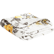 Lush Decor Penrose Floral Throw