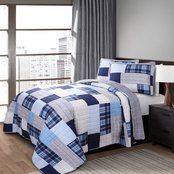 Lush Decor Greenville Quilt 2 pc. Set