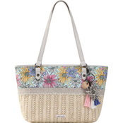 Sakroots Ellis Small Straw Satchel