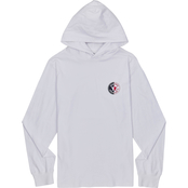 Converse Logo Mix Hooded Tee