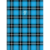 TF Publishing July 2020 - June 2021 Plaid Attitude Monthly Planner