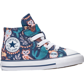 Converse Toddler Girls Chuck Taylor All Star 1V Hi Shoes