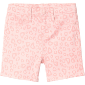 YMI Jeans Little Girls Printed Twill Shorts