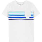 OshKosh B'gosh Little Boys Stripe Pocket Tee