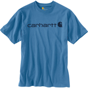 Carhartt Signature Logo Jersey Knit Graphic Tee