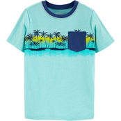 OshKosh B'gosh Little Boys Beach Pocket Tee