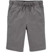 OshKosh B'gosh Little Boys Side Stripe Pull On Shorts