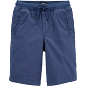 OshKosh B'gosh Little Boys Stretch Camp Shorts