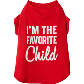 Petco Bond & Co. Favorite Child Jersey Dog Tee