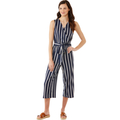 JW Sleeveless Striped Jumpsuit