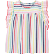 OshKosh B'gosh Little Girls Flutter Sleeve Top